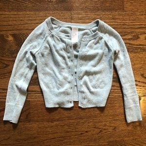 EUC- Grey button up sweater
